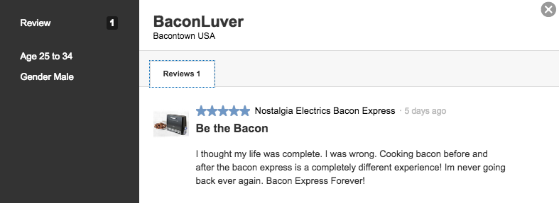 bacon-express-review